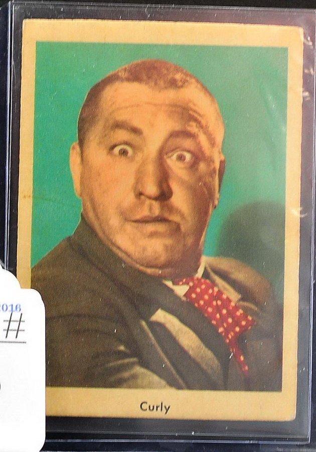 1959 Fleer Three Stooges Card Curly