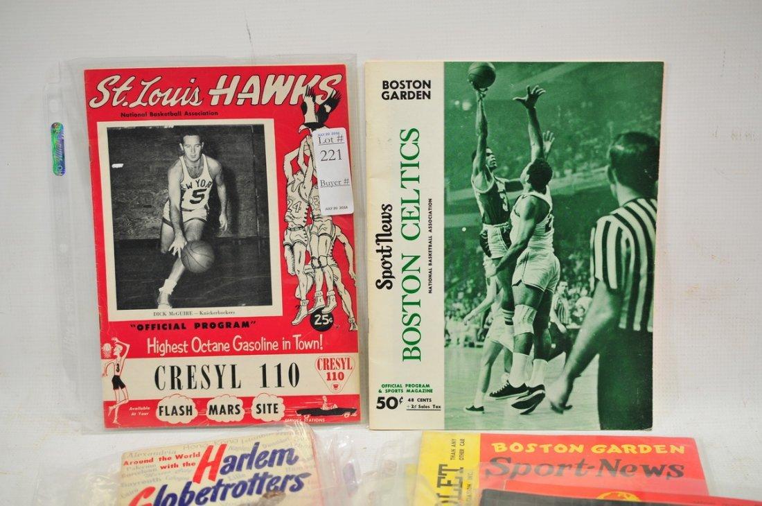 8 1950's Basketball Programs