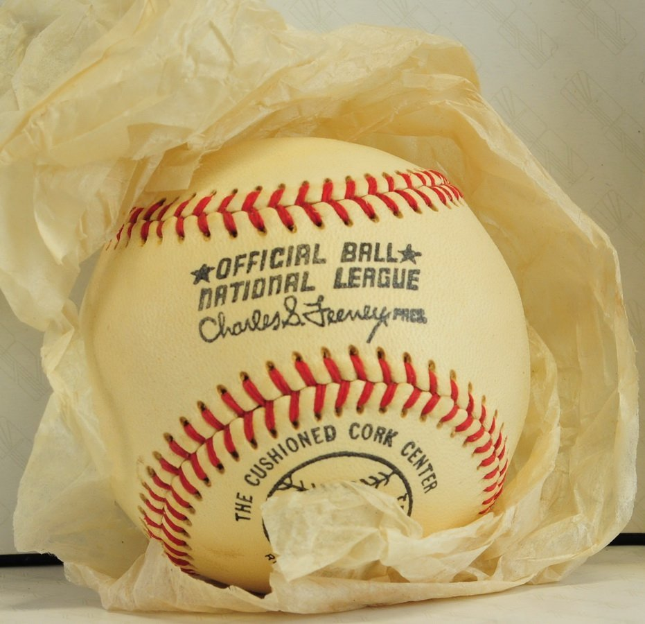 Official National League Spaulding Ball