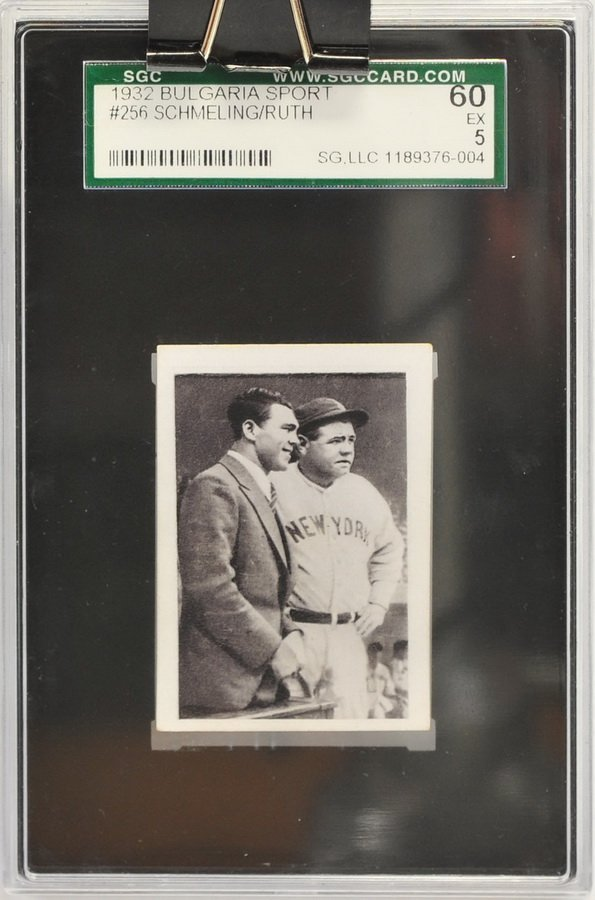 1932 Bulgaria Sport Babe Ruth/Schmeling