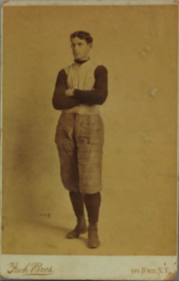 1890 Pach Brothers Football Cabinet Card