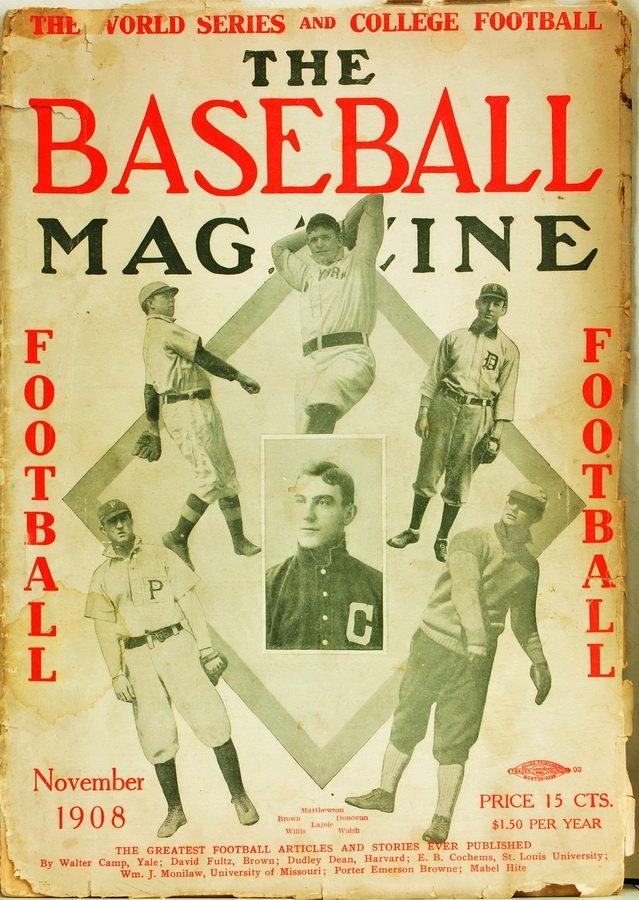 Three Early Rare Baseball Magazines