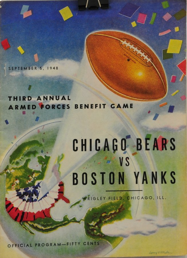 1948 and 1949 Chicago Bears Programs