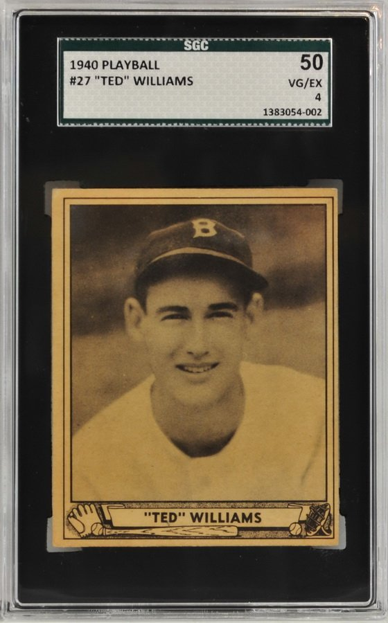 1940 Playball Ted Williams
