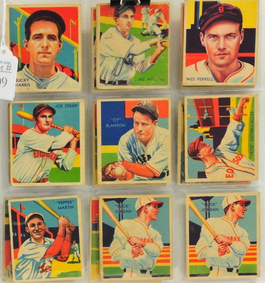 17 1934,35, 36 Diamond Kings Cards