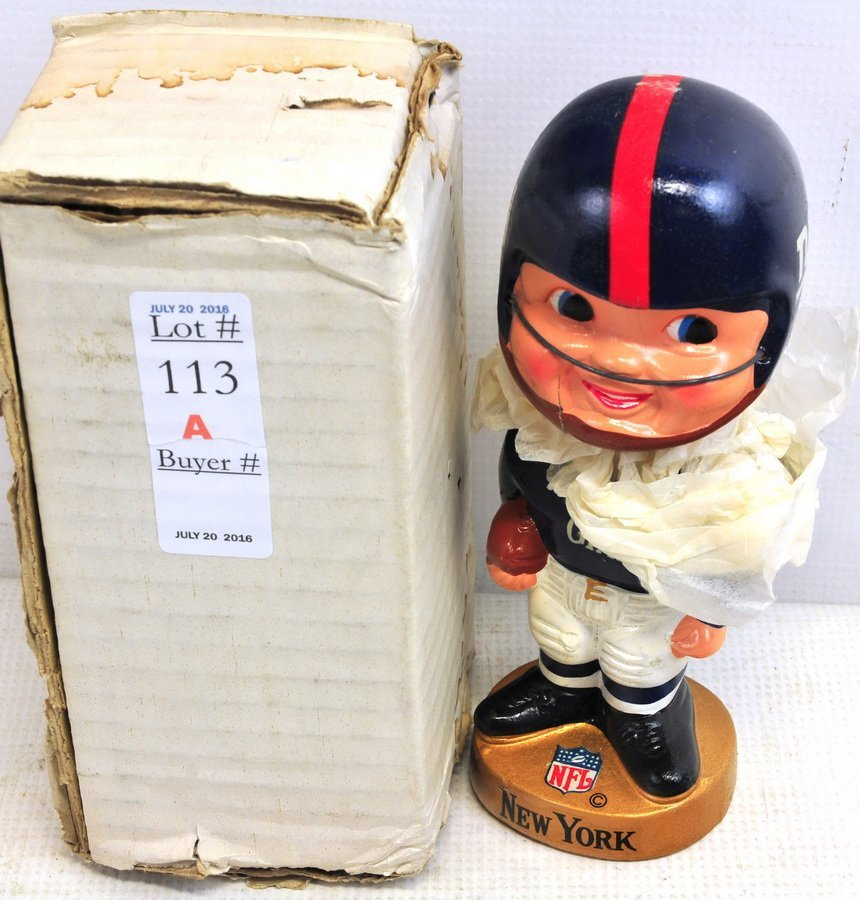 1950's NY Giants Bobble Head Doll