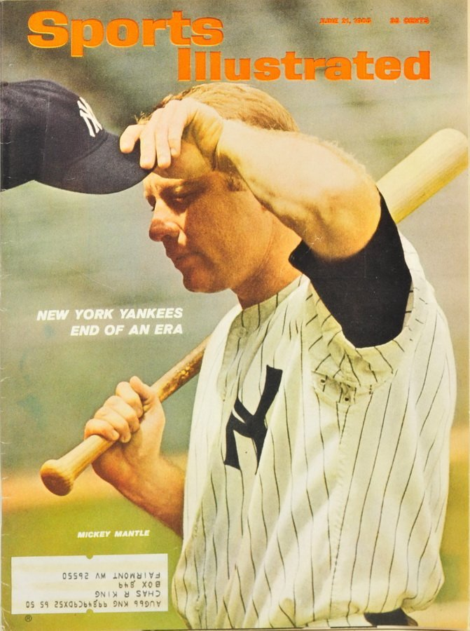 Two Sports Illustrated Mickey Mantle