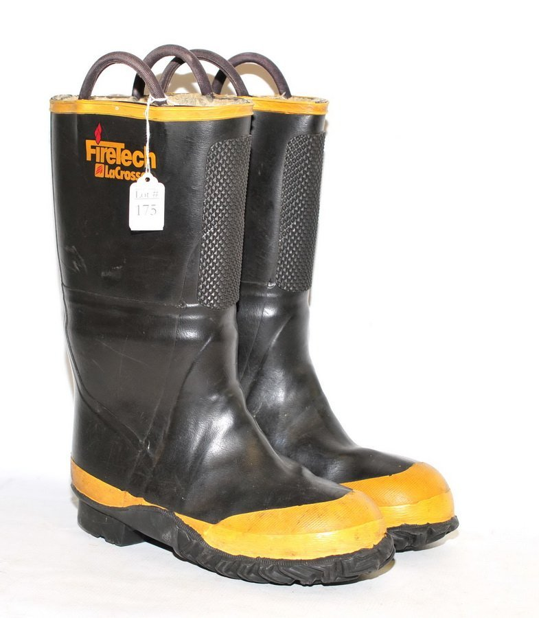 Pair of Lacross Firetech Boots