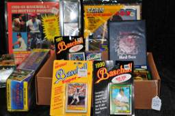 New old stock baseball cards