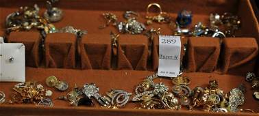 Estate Collection of costume jewelry