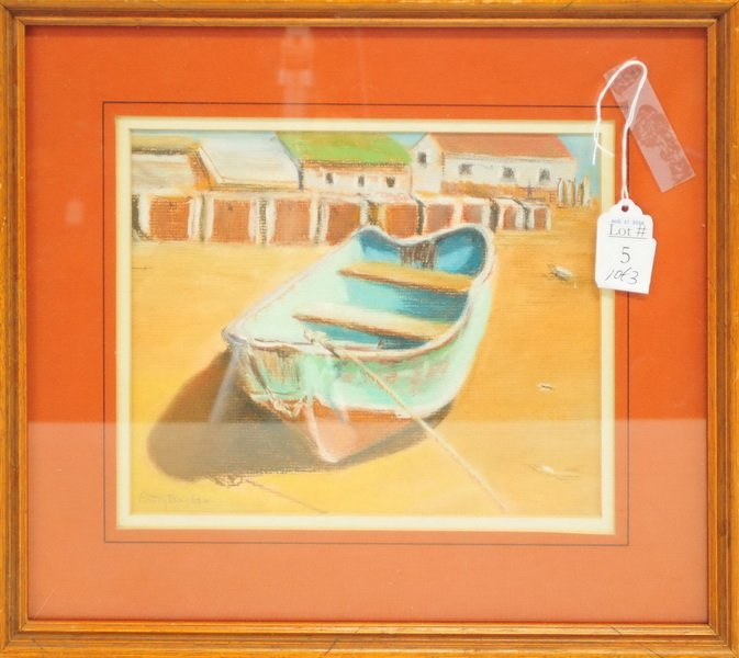 Three Pieces of Original Art/Betty Bogdan - 3