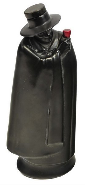 Royal Doulton The Don Man In Black Cape Decanter