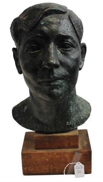 Bronze Bust by Arnold Geissbuhler