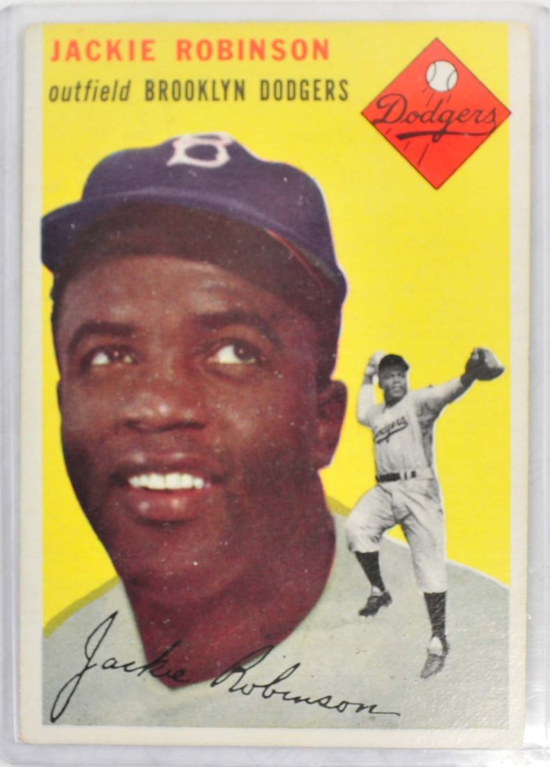 1954 Topps Jackie Robinson