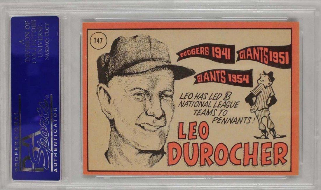 10 1969 Topps Baseball Cards PSA Graded Mint 9 - 8