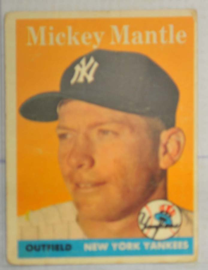 1958 Topps Mickey Mantle