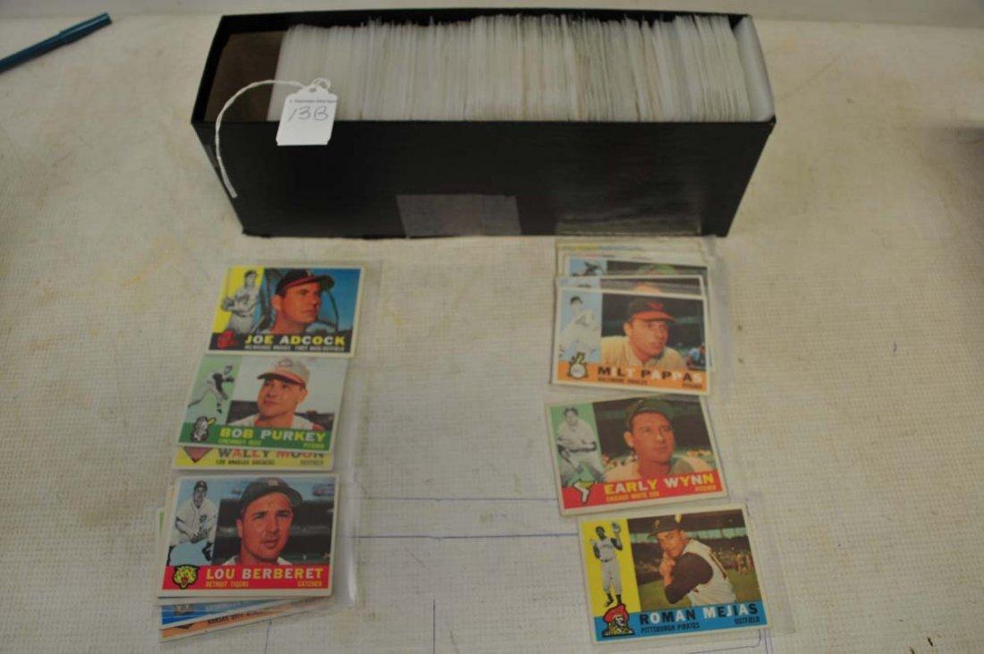 460 1960 Topps Baseball Cards - 2