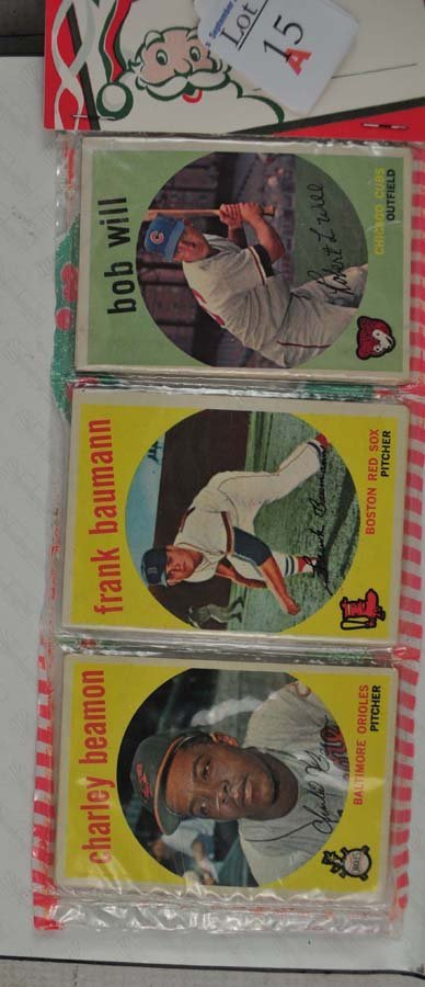 1959 Topps Christmas Rack pack