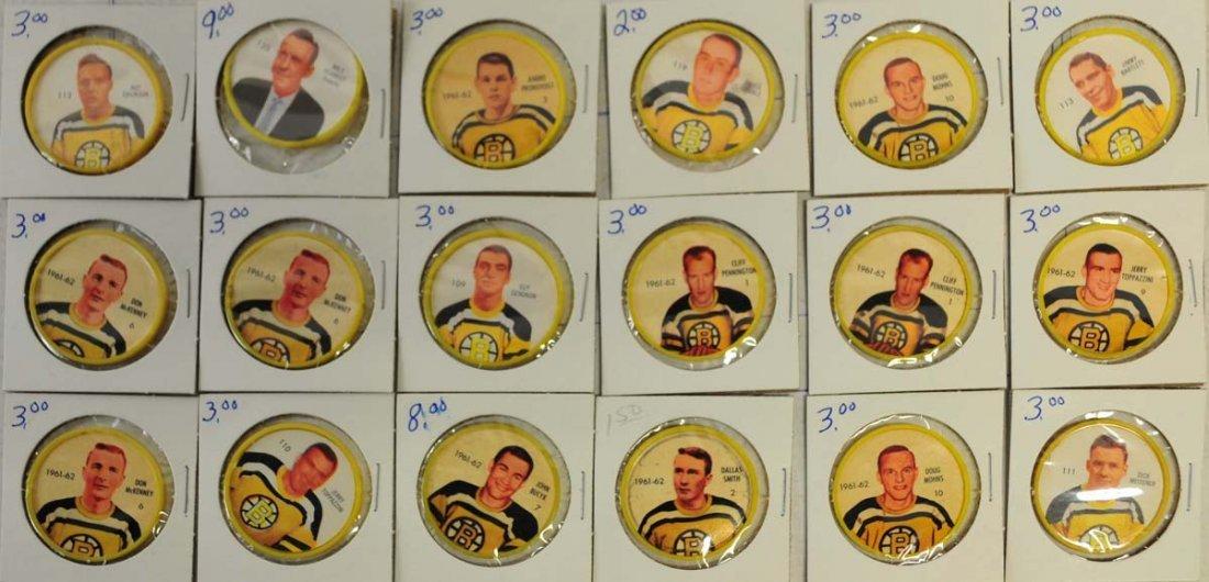 69 1961-62 Shirriff-Salada Hockey Coins