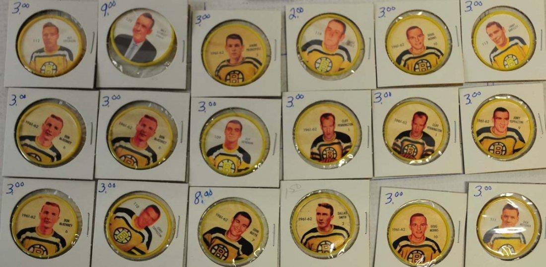 69 1961-62 Shirriff-Salada Hockey Coins - 2