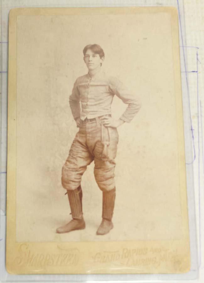 Circa 1900 Foorball Cabinet Card