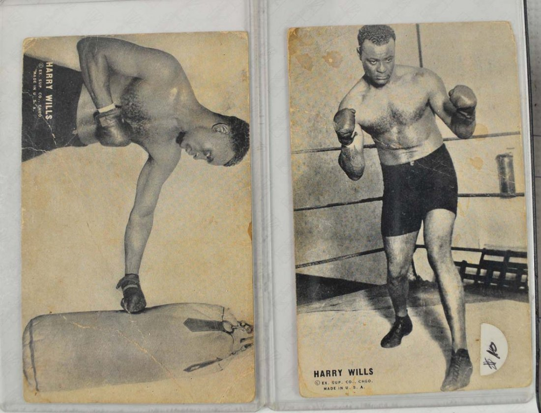 8 Ex Supply Company Boxing Exhibit Cards - 3