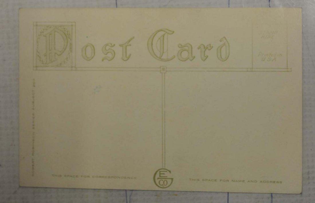 1912 Robert Robinson Nap Lajoie Postcard - 2