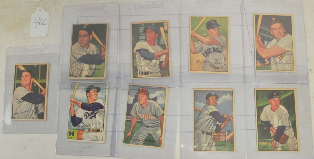 1952 Bowman Hall Of Famers/Stars
