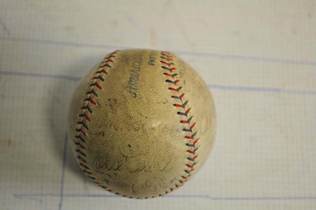 1929 Philadelphia World Champions Signed Baseball