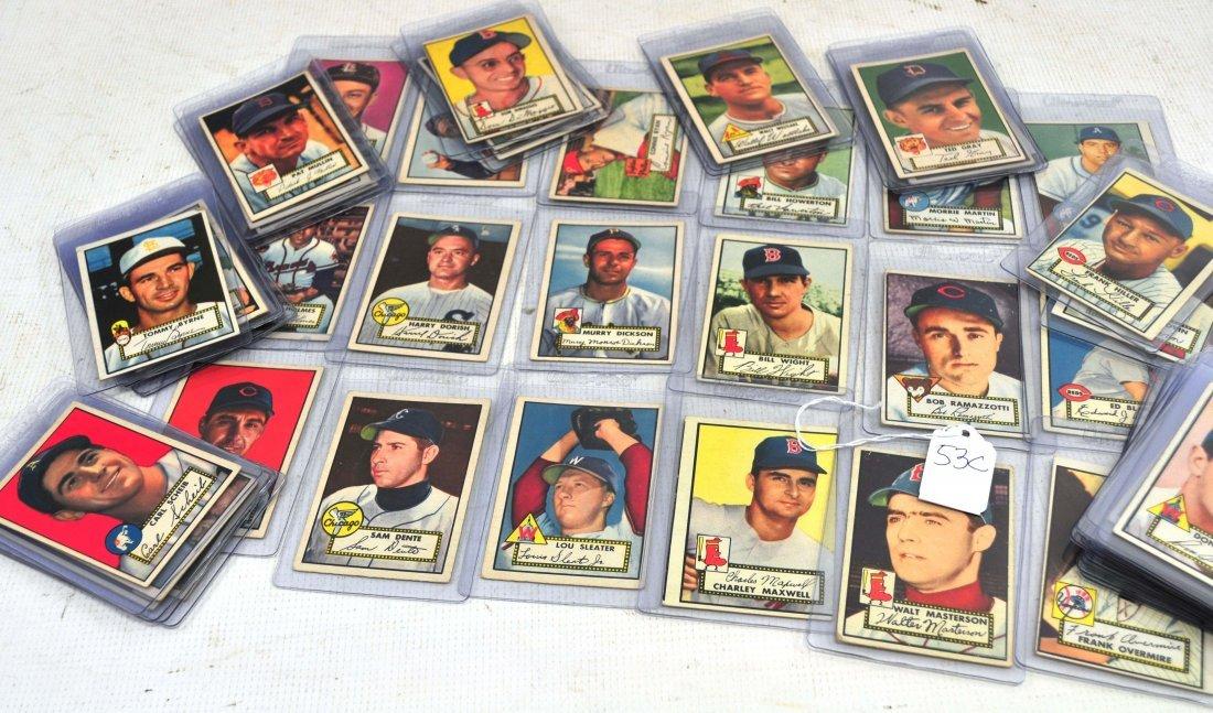 1952 Topps Baseball Starter set attic find