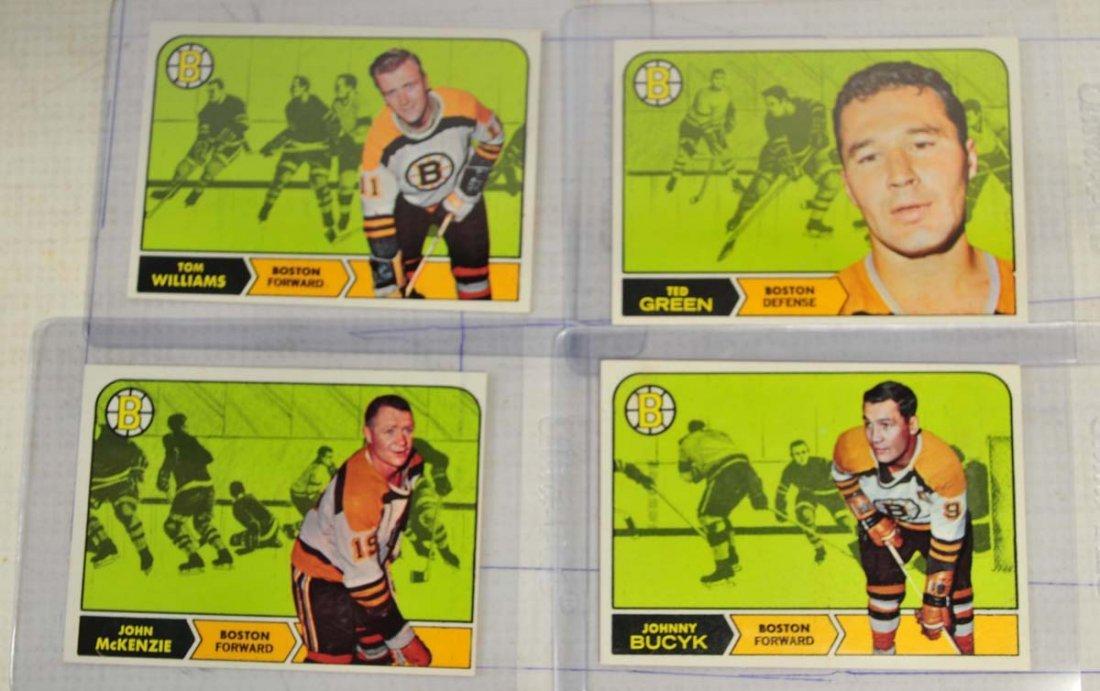 12 1968 Topps Hockey Cards Near Mint - 2