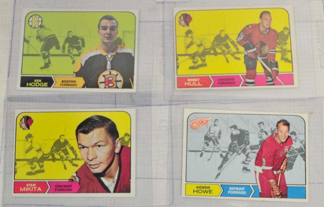 12 1968 Topps Hockey Cards Near Mint - 3