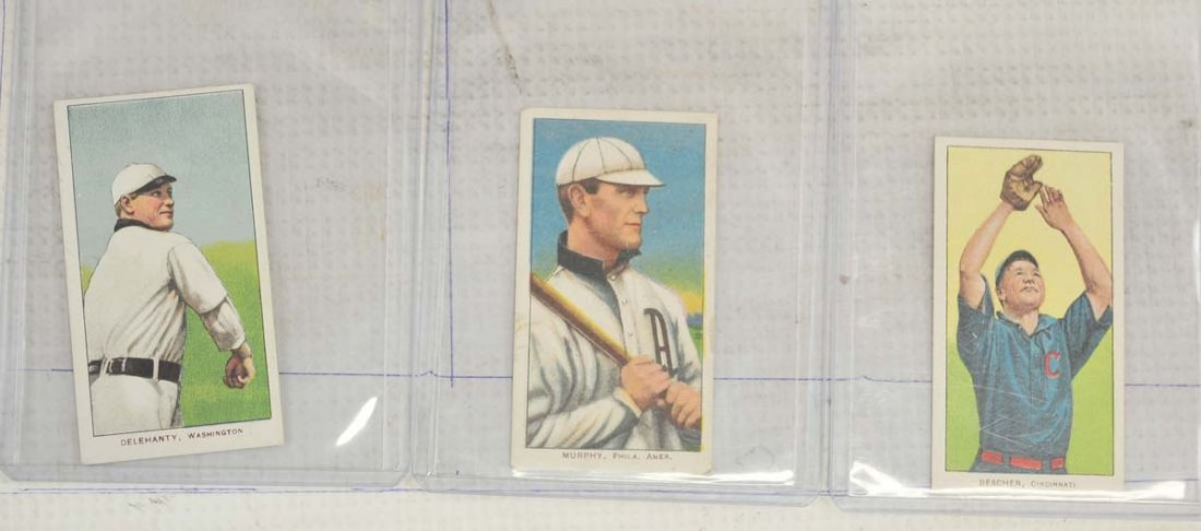 9 1909-11 T206 Cards Ungraded - 3