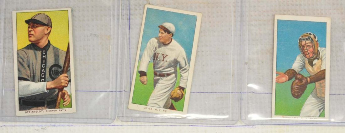 9 1909-11 T206 Cards Ungraded - 4