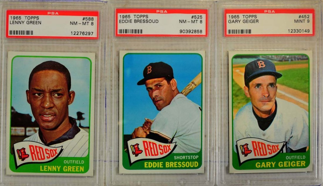 20 1964 Topps Baseball Cards PSA Graded 8