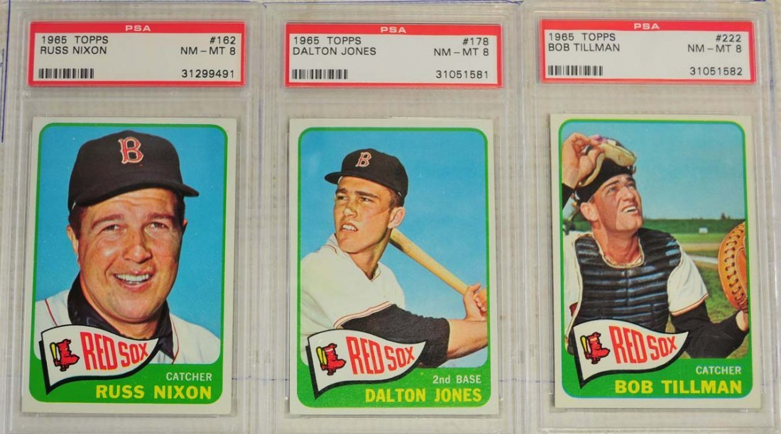 20 1964 Topps Baseball Cards PSA Graded 8 - 7
