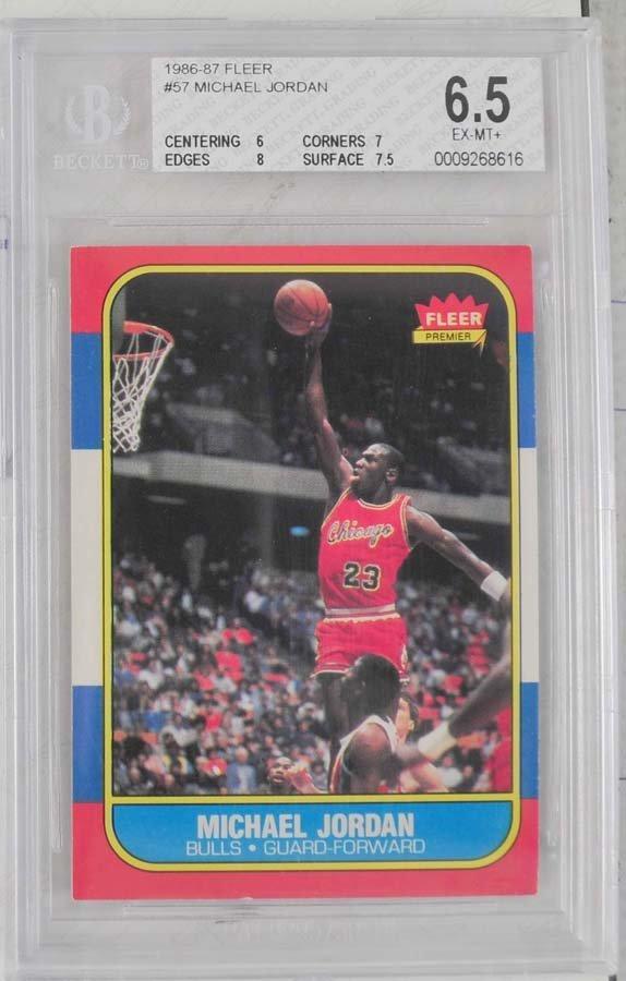 1986 Fleer Michael Jordan Rookie