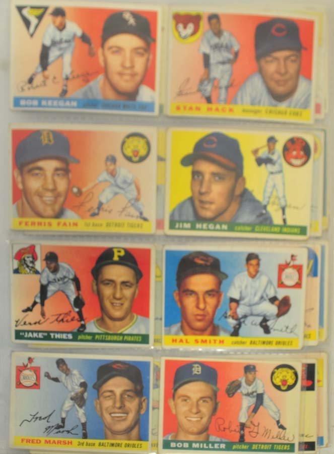 128 1955 Topps Baseball Cards