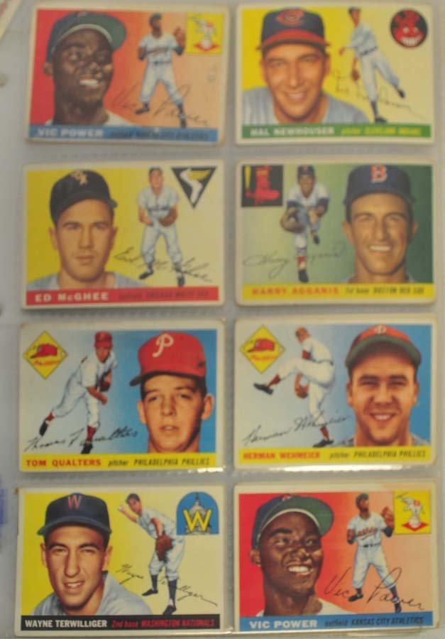 128 1955 Topps Baseball Cards - 3
