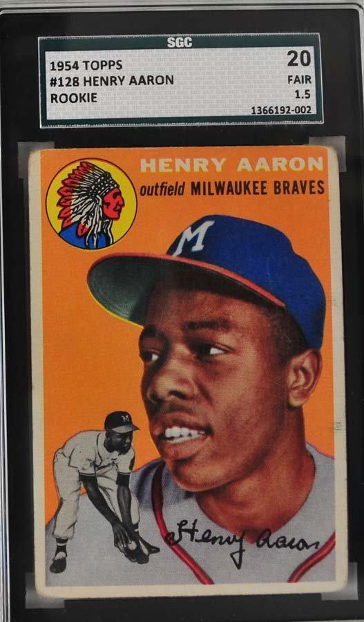 1954 Topps Hank Aaron Rookie