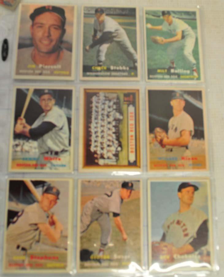 26 1957 Topps Baseball Cards - 2