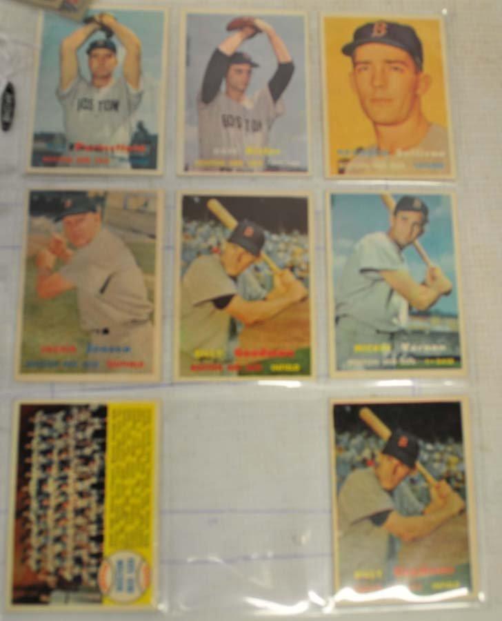 26 1957 Topps Baseball Cards - 3