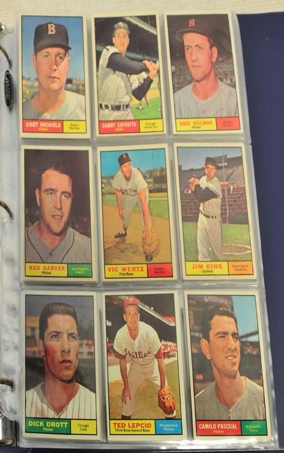 68 1961 Topps Baseball Cards - 2