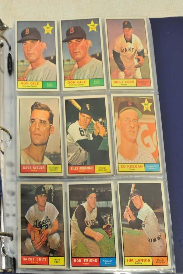 68 1961 Topps Baseball Cards - 3