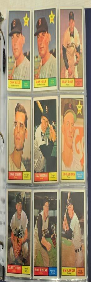 68 1961 Topps Baseball Cards - 4