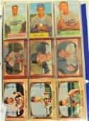 97 1954 and 1955 Bowman Baseball Cards