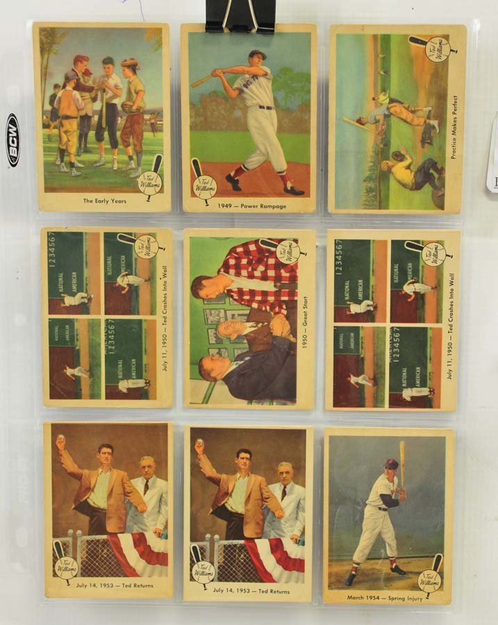 73 1959 Fleer Ted Williams Cards - 10