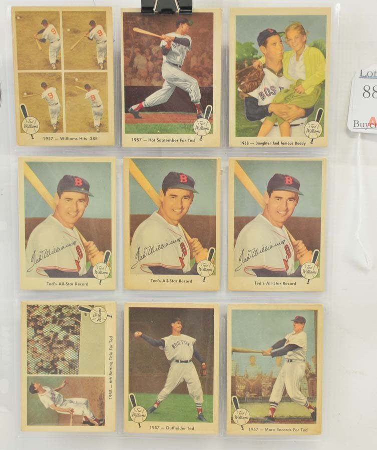 73 1959 Fleer Ted Williams Cards