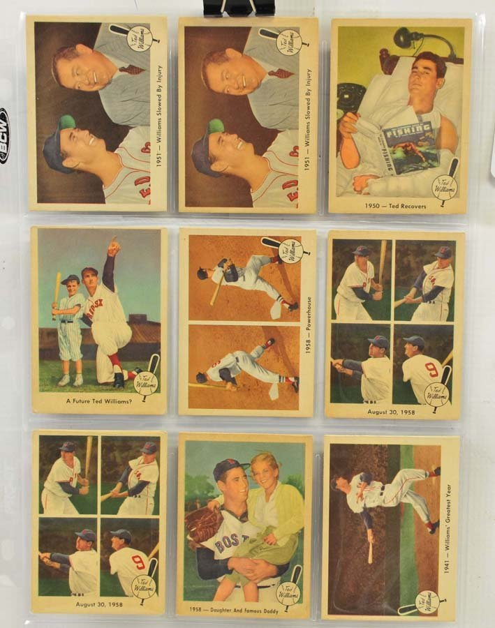 73 1959 Fleer Ted Williams Cards - 5