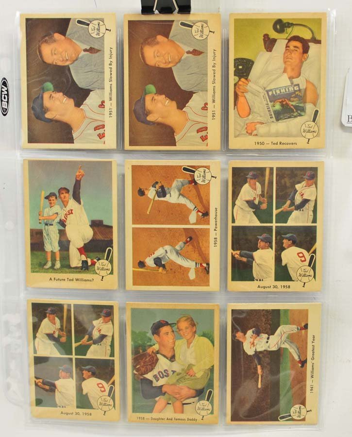 73 1959 Fleer Ted Williams Cards - 6